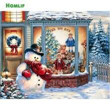 Diamond Embroidery Santa Christmas Tree DIY Diamond Painting Kerst Cross Stitch Picture Rhinestones Full Square Diamond Mosaic