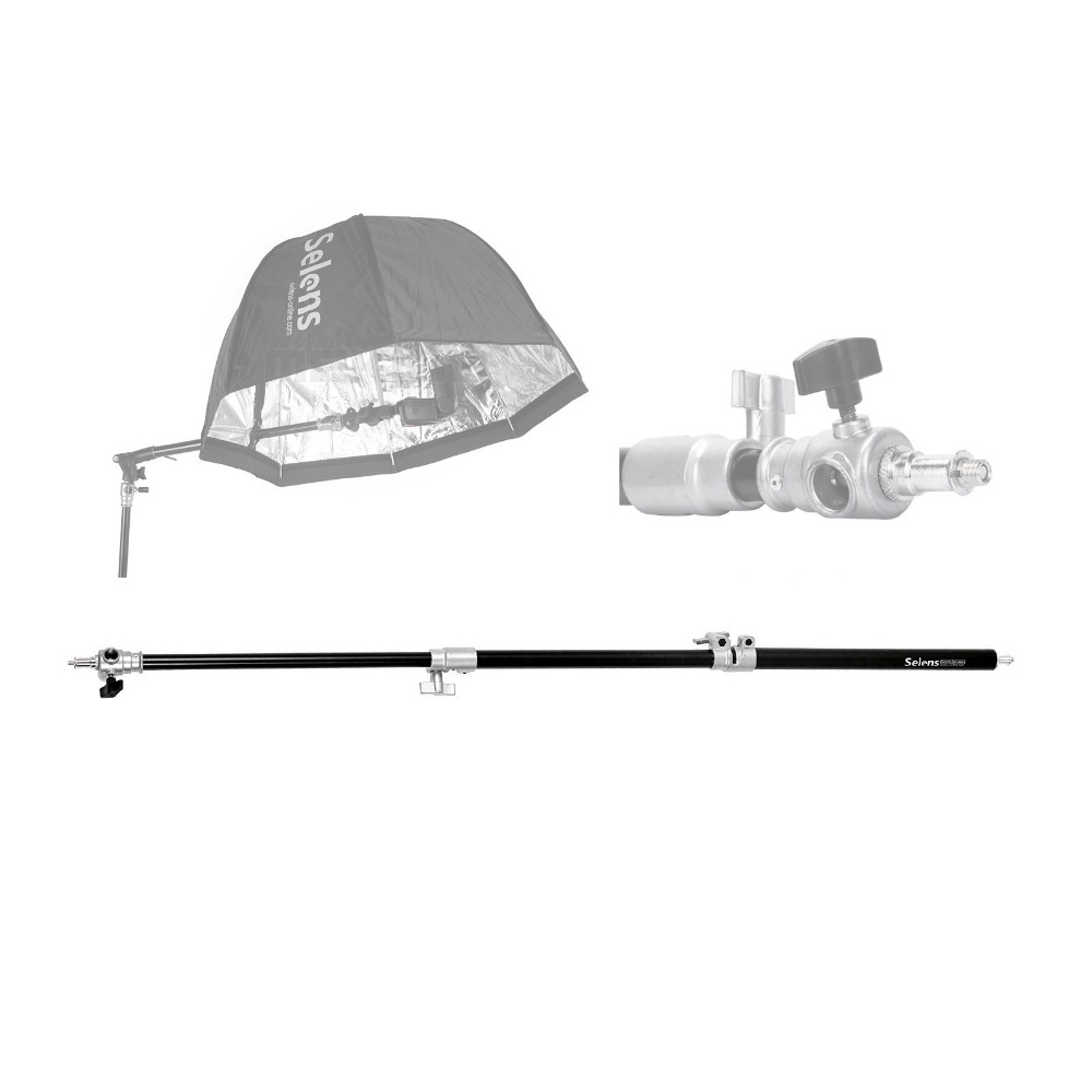 Meking Selens photographic SEP 1200A 120cm 48 Air Cushioned Extension Pole Tube for font b Light