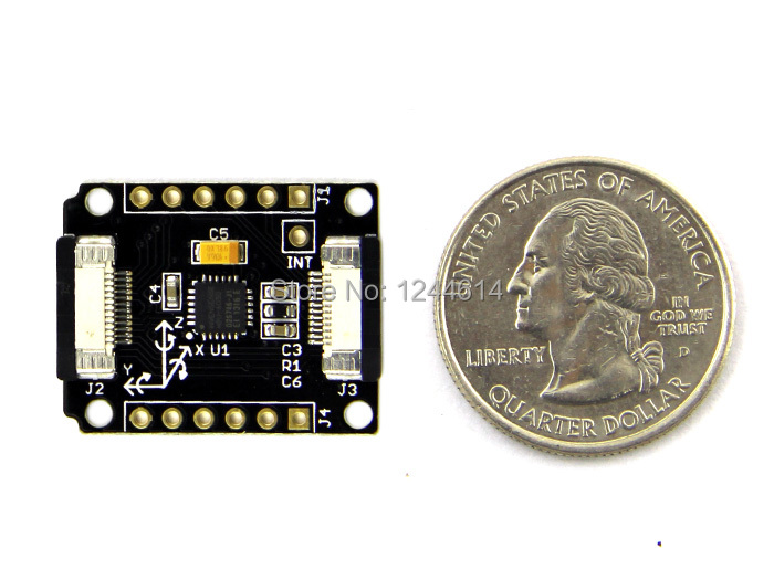 US $16 9 |seeedstudio Xadow IMU 6DOF micro motion tracking module based on  the sensor MPU6050 with a Digital Motion Processor (DMP)-in Sensors from