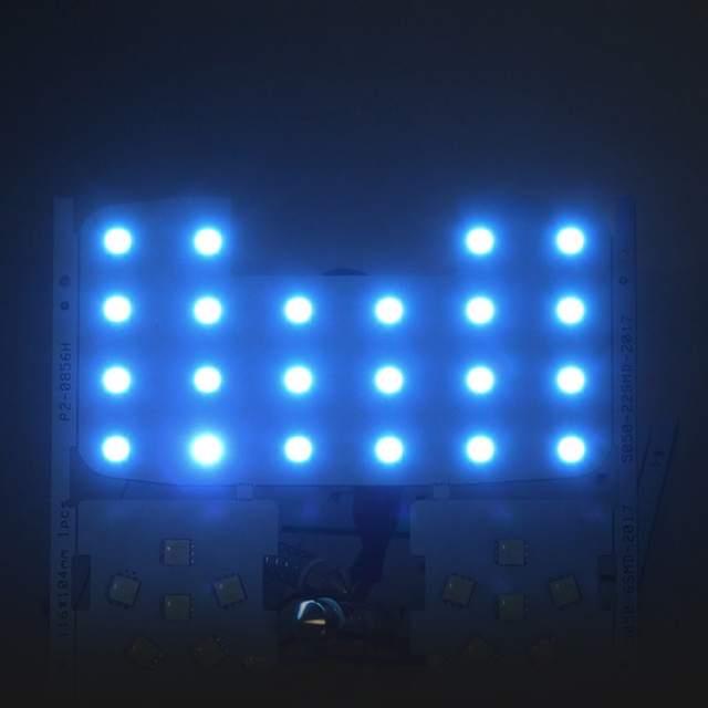 White Led Auto Car Reading Interior Light Panel Dome Lamp For Kia Rio K2 Singal Lights