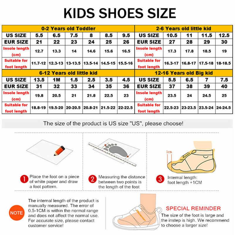 2019 yeni beyaz çocuk ayakkabı moda rahat nefes örgü erkek ayakkabı yumuşak kaymaz ışık çocuk ayakkabı boyutu 28 -40