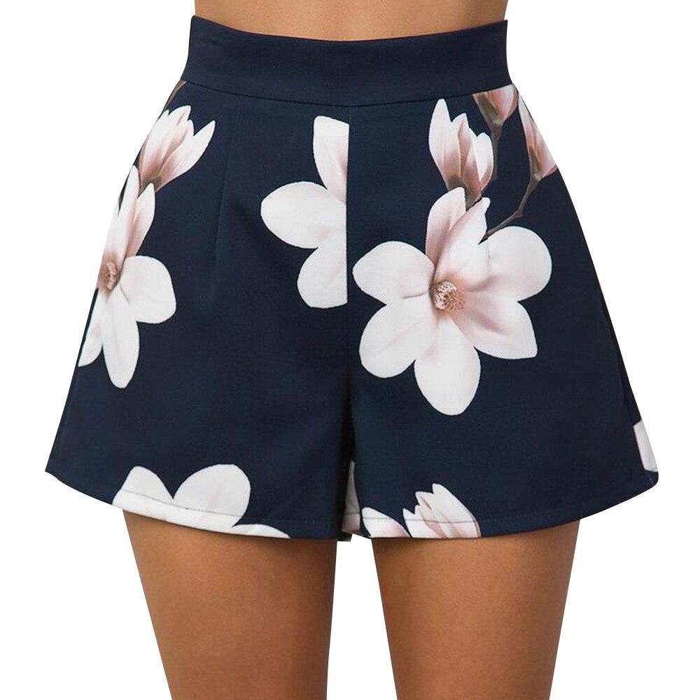 Women Causal Daily High Waist  Print Fashion Wide Short Leg Scanties Dropship