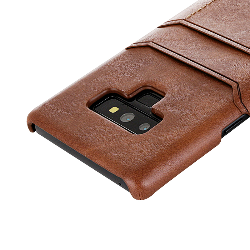 Suntaiho Retro PU Leather Case for Samsung Galaxy s9 plu for Samsung Galaxy note9 Galaxy s8 View Card Slot for Galaxy Note8 case
