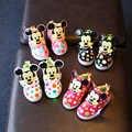 Davidyue led dzieci dziewczyny dzieci buty świecące buty dla dzieci świecące LED dzieci sneakers oświetlenie dziecięce hak pętli ^ buty dziewczyny