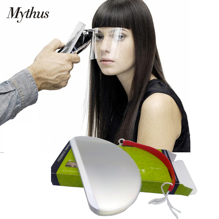 50pcs/pack Haircut Eye Protector Cover Hairdresser Anti Dust Salon Hair Face Cover In Universal Size Hairdressing Acessory Tools Hair Care & Styling