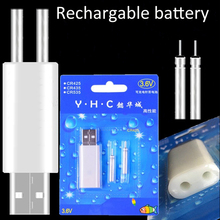 Fishing Floats Rechargeable CR425 Battery 2 Pieces USB Battery Charger Multi Devices Suitable Electronic Fishing Tackles