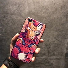 Marvel Civil War 3D Printed Phone Case for iPhone
