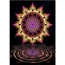 DIY round diamond painting 5D cool pattern embroidery cross stitch mosaic rhinestone home decoration gift