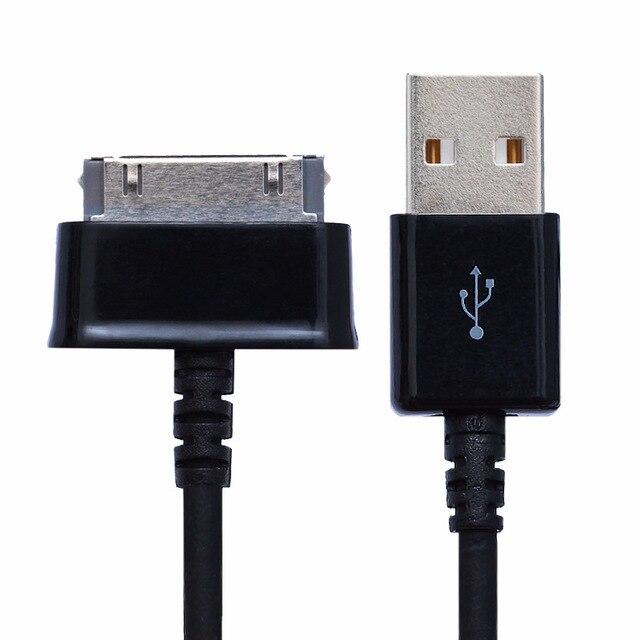 1 M cargador de Cable de datos USB para Samsung Galaxy Tab 2 10,1 P5100 P7500 tableta para teléfonos inteligentes envío gratis