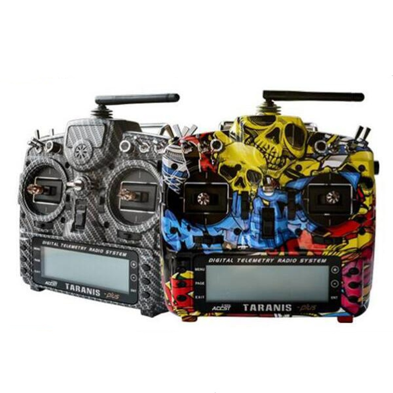 Frsky Taranis X9D Plus Transmitter Spare Part Carbon Fiber Orginal Remote Control Custom Protective Shell For