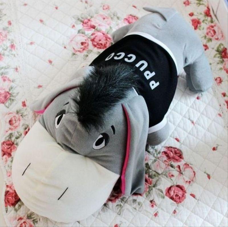Âne géant animaux en peluche coussins oreiller jouets en peluche le meilleur cadeau pour les enfants livraison gratuite 110 cm