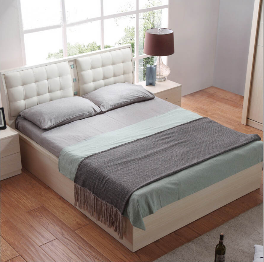 Online kopen wholesale lederen bed uit china lederen bed ...