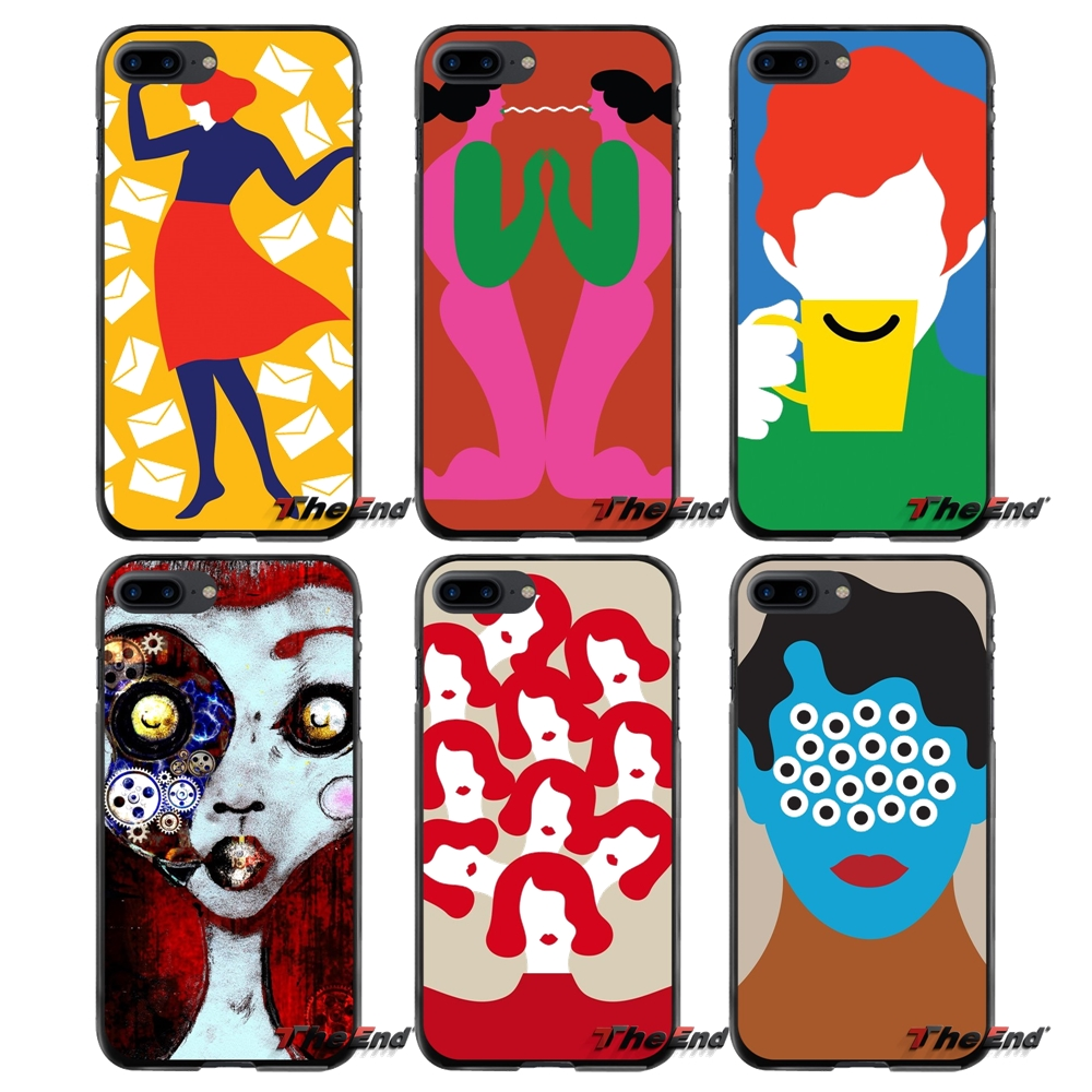 Accessories Phone Cases Covers For Apple iPhone 4 4S 5 5S 5C SE 6 6S 7 8 Plus X iPod Touch 4 5 6 Olimpia art