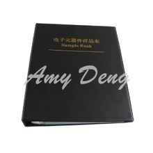 SMD electronic components, Sample book, resistors, capacitors, inductors, , component book with 20 Empty Pages