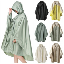 Raincoat Women Men cloak Waterproof Windproof Light Hooded Rain Coat Ponchos Jackets Female Chubasqueros Mujer