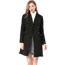 ZOGAA 2019 New 4 colors Hot Sale Woman Wool Coat Winter Jacket Slim Woolen Long Cashmere Coats Cardigan Jackets Elegant Blend