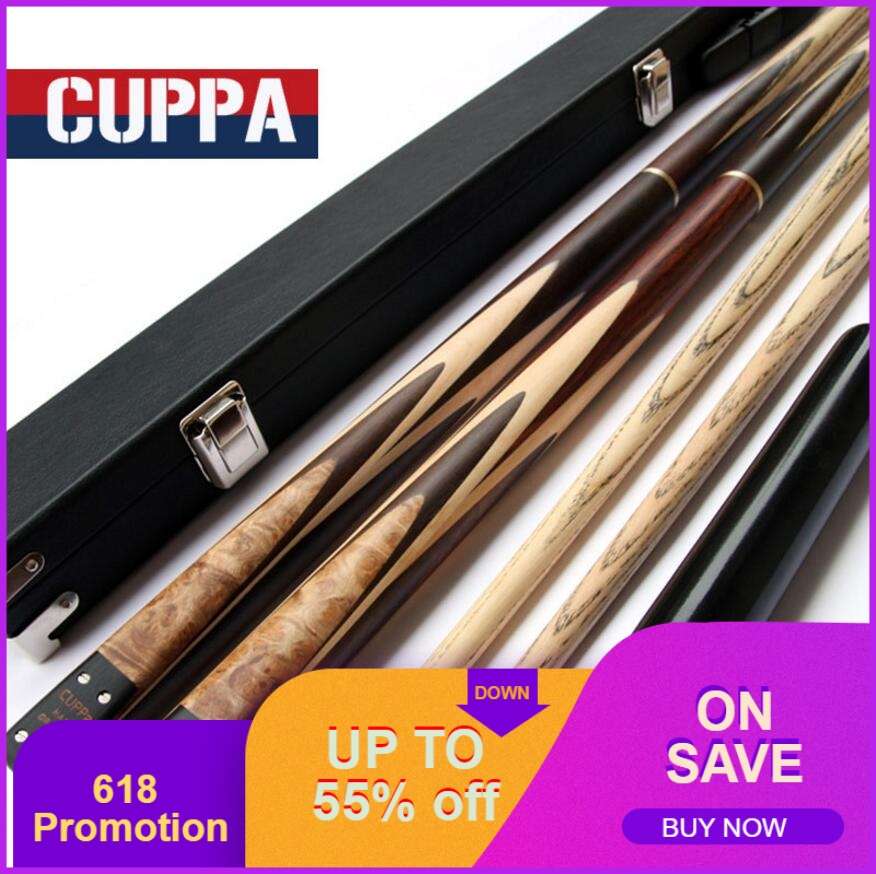 Cuppa 3/4 Snooker Cues Stick Billiard 9.8mm/11.5mm Tip With Black Snooker Cue Case Set Professional Handmade Billiard Kit ChinaCuppa 3/4 Snooker Cues Stick Billiard 9.8mm/11.5mm Tip With Black Snooker Cue Case Set Professional Handmade Billiard Kit China
