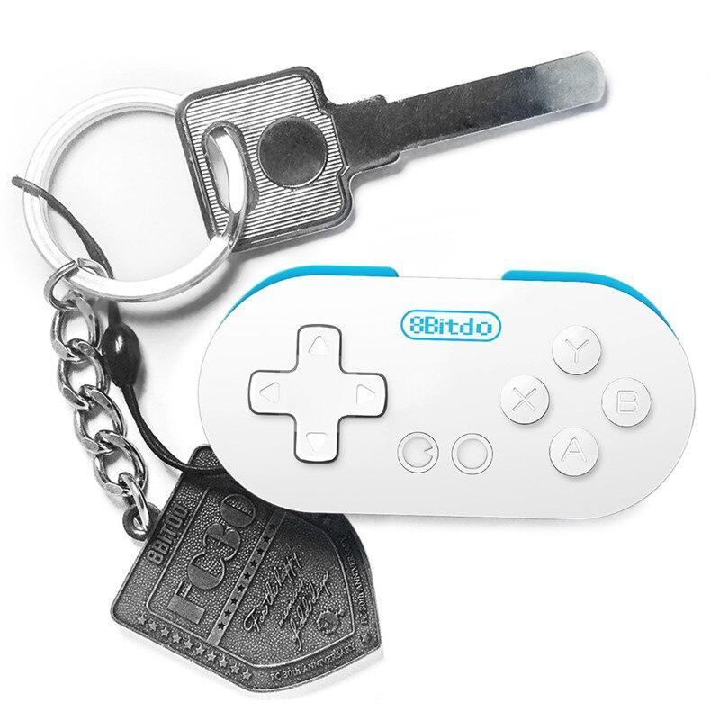 8 Bitdo Null Mini Drahtlose Bluetooth V2.1 Spiel Controller Gamepads Joystick Selfie Fernauslöser Für Android iOS Smartphone