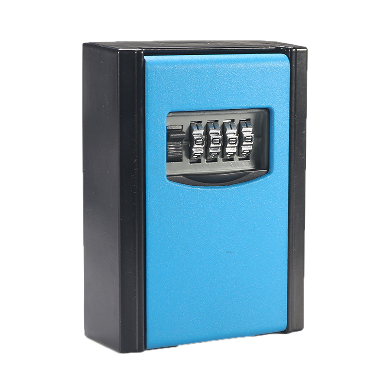 4 Digit Password Key Storage Box Wall Mounted Combination Security Secret Storage Box Safety Lock Tool Home Security Protection