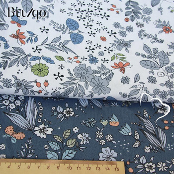 buulqo Printed Kids Cotton fabric baby quilting cotton twill fabric by meter DIY sewing craft cotton material 3