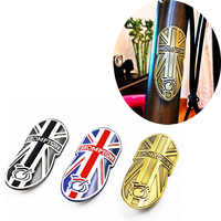 Bicycle Metal Head Badge Decal Head Post Stem Sticker For Brompton Folding Bike