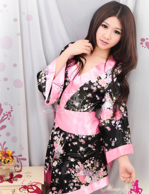 Sexy japanese robes