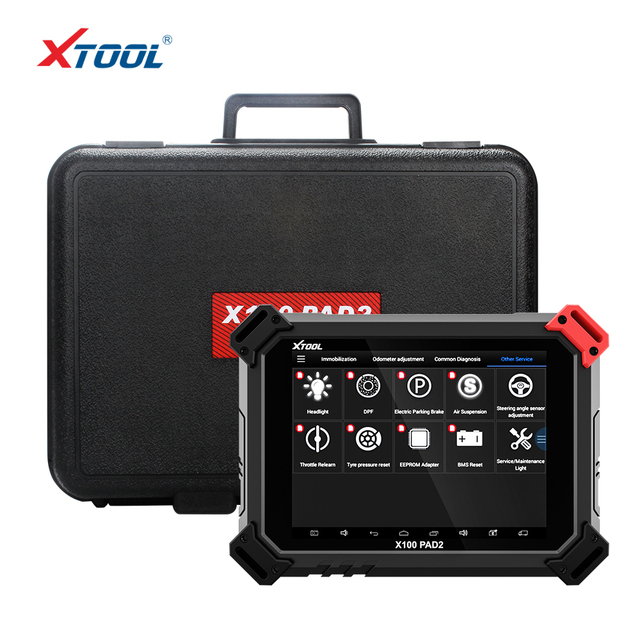 Flash Promo Original Auto Key Programmer car-detector with Update Online  XTOOL X100 PAD2 x100 pad 2 Better than X300 Pro3 DP