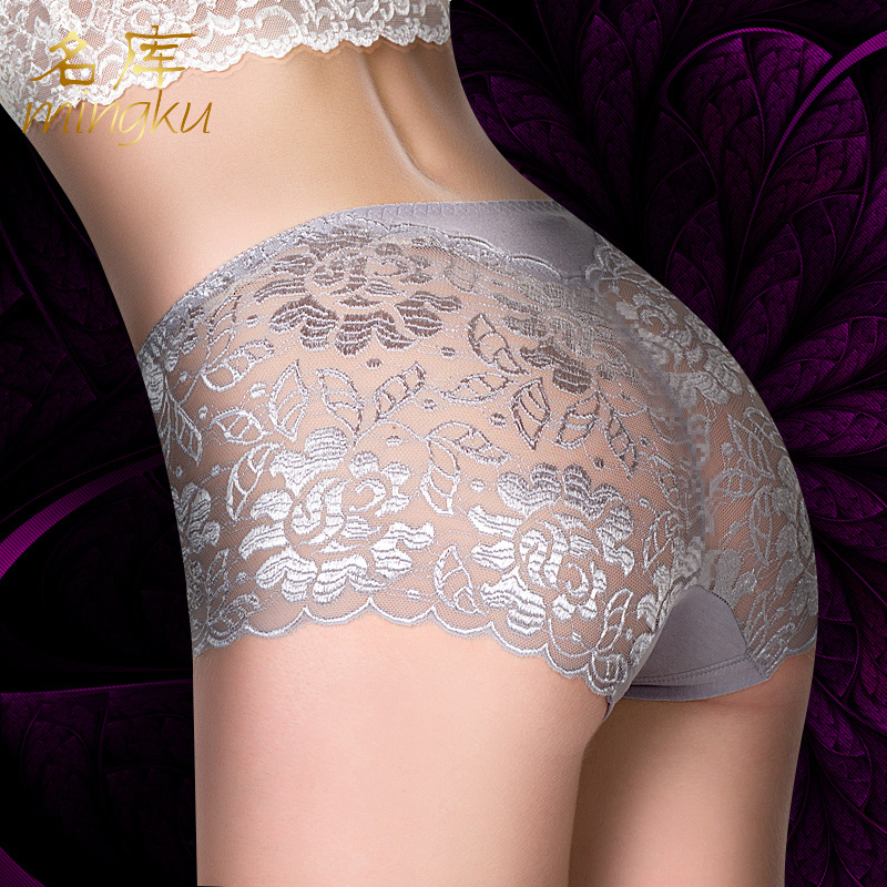 Sexy Panties For Women Underwear Seamless Panties Womens Sexy Lace Panties Seamless Cotton Breathable Panty Hollow Briefs