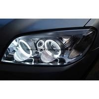 For Chevrolet CAPTIVA S3X 2006 2011 Ultra Bright Day Light DRL CCFL Angel Eyes Demon Eyes