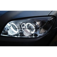 For Chevrolet CAPTIVA S3X 2006 2011 Ultra Bright Day Light DRL CCFL Angel Eyes Demon Eyes