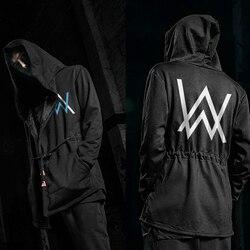 Autumn Winter Hoodies Men Long Sleeve Sweatshirts Black Cloak Shawl Outwear Streetwear Style Hooded Men's Plus 5