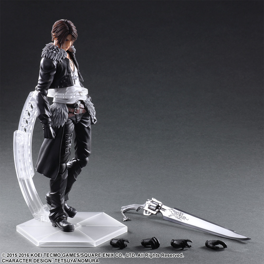Paly Arts Kai FINAL FANTASY DISSIDIA Squall Leonhart PVC Action Figure Collectible Model Toy 25cm KT3639 shfiguarts batman injustice ver pvc action figure collectible model toy 16cm kt1840