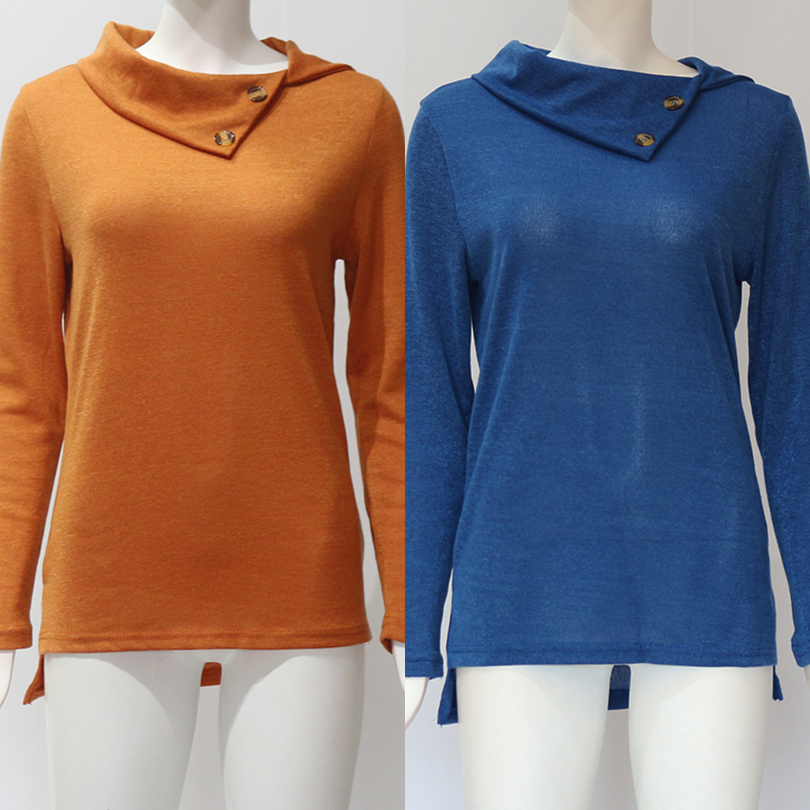 Sexy Turtleneck Solid Women Sweater Autumn Long Sleeve Tops Pullovers Winter Warm Ladies Sweater Knitted Casual Clothes 2019 in Pullovers from Women 39 s Clothing