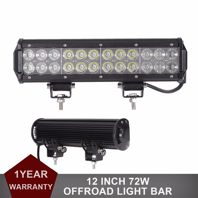 2pcs 72w off road led work light bar 4x4 12v 24v truck boat suv 2pcs 72w off road led work light bar 4x4 12v 24v truck boat suv atv 4wd mozeypictures Images