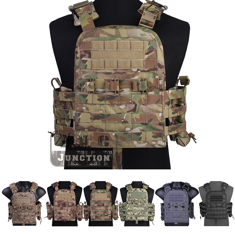 Emerson CP Style NCPC Hunting Tactical Vest EmersonGear Adjustable MOLLE Body Armor Airsoft Combat Cherry Plate Carrier CS Swat