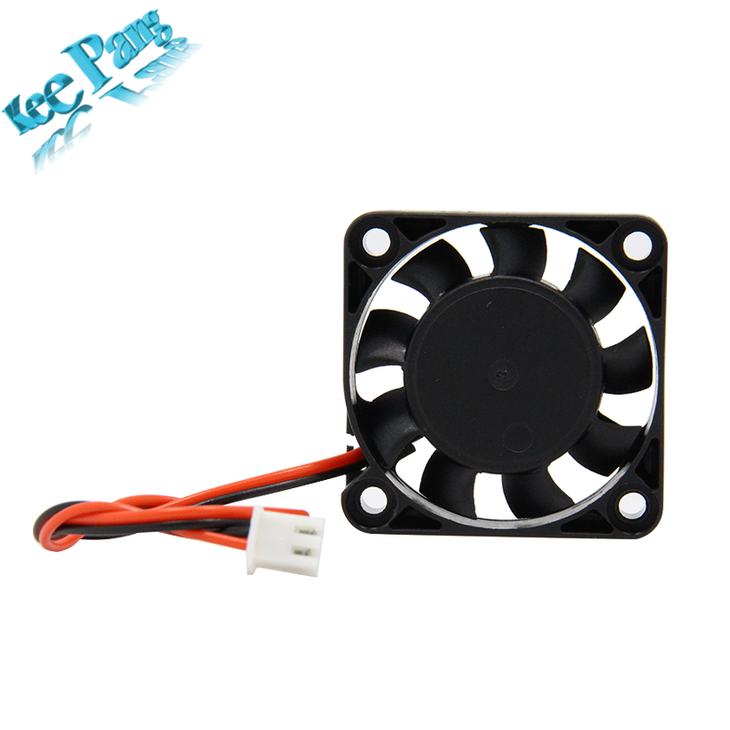5pcs 12V 24V 4010 Cooling Fan 2 Pin Dupont Wire 3D Printers Parts Brushless Cool Fans Part 40*40*10 Quiet DC 40m Cooler Radiator 120x120x25mm 12025 fans 12 volt 2pin brushless 12cm dc fans chassis fan cooler cooling radiator