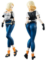 Dragon Ball Figuras Dolls Anime DragonBall Z Android 18# PVC Action Figure Model Toys Sexy Girl Doll Brinquedos Gift 20cm