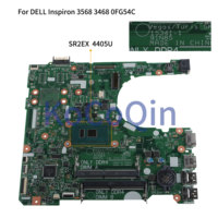 KoCoQin Laptop motherboard For DELL Inspiron 3467 3568 3468 CORE 4405U SR2EX CN 0FG54C 0FG54C 15341 1 CPU Mainboard perfect work