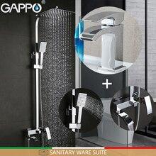 GAPPO bồn tắm vòi phòng tắm vòi sen đặt vòi nước lưu vực lưu vực bồn rửa tap hệ thống vòi hoa sen Thiết Bị Vệ Sinh Bộ