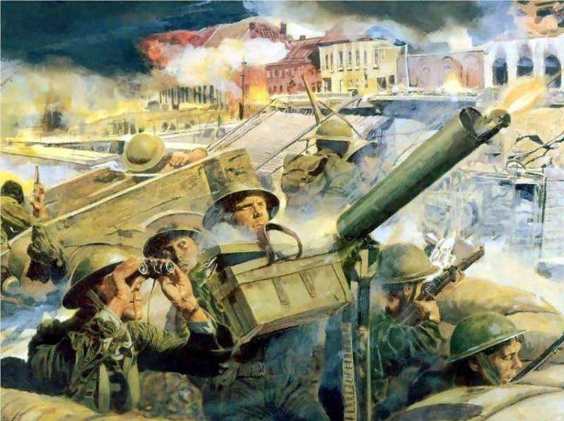 Bescheiden Volledige 5d Diy Diamant Borduurwerk Wereldoorlog Ii Wehrmacht Guns Tank Militaire Diamant Schilderen Kruissteek Boor Strass Mozaïek Gediversifieerd In Verpakkingen