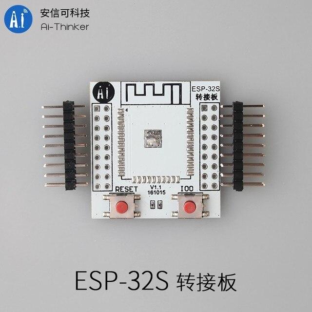 5PCS/LOT ESP-32 wireless bluetooth adapter plate plate ESP-32S ESP-3212