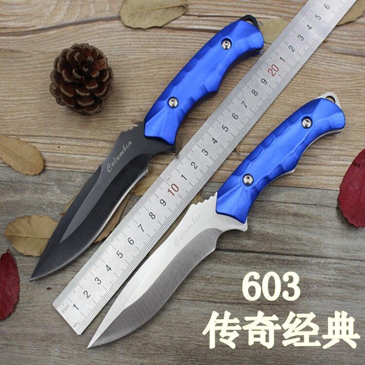 High carbon stahl Mini straight font b knife b font jagdmesser sharp handmade geschmiedete klinge camping