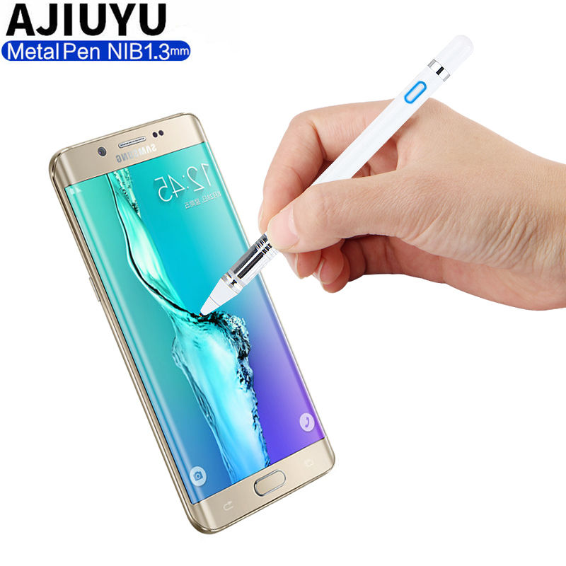 Pen Active Stylus Capacitive Touch Screen For Samsung Galaxy S8 S7 S6 edge S8+ Plus S5 S4 S3 G9500 G930V G920F Mobile phone Case