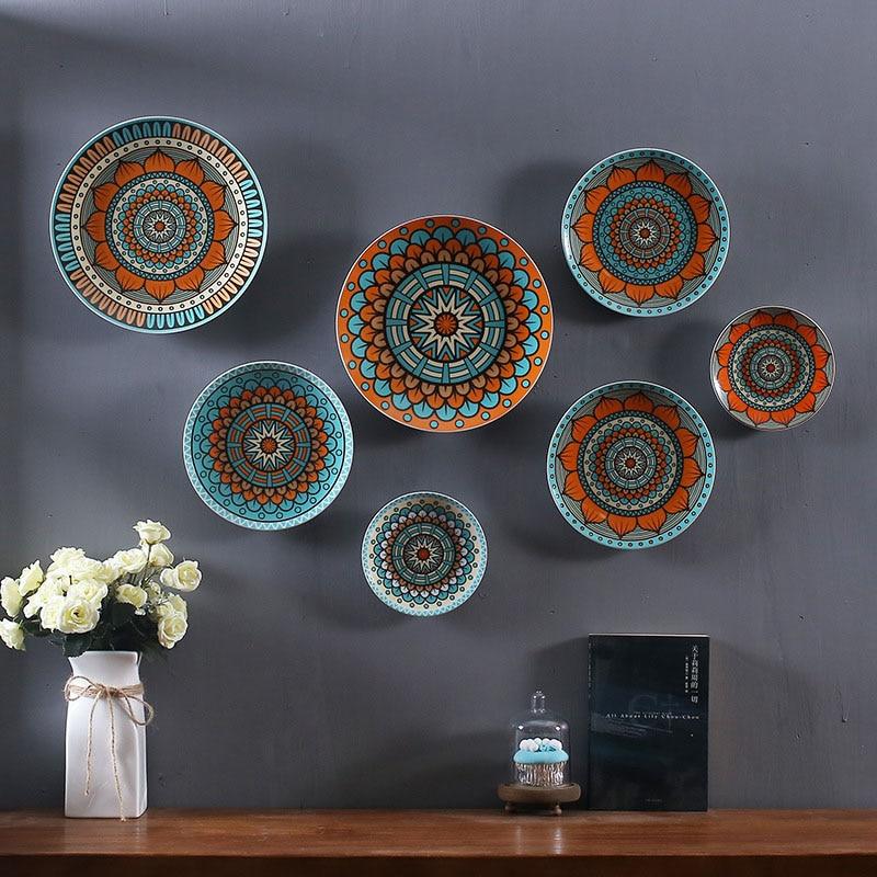 Home Decorative Ceramics Wall Decoration Dish/Wall Hanging Plate