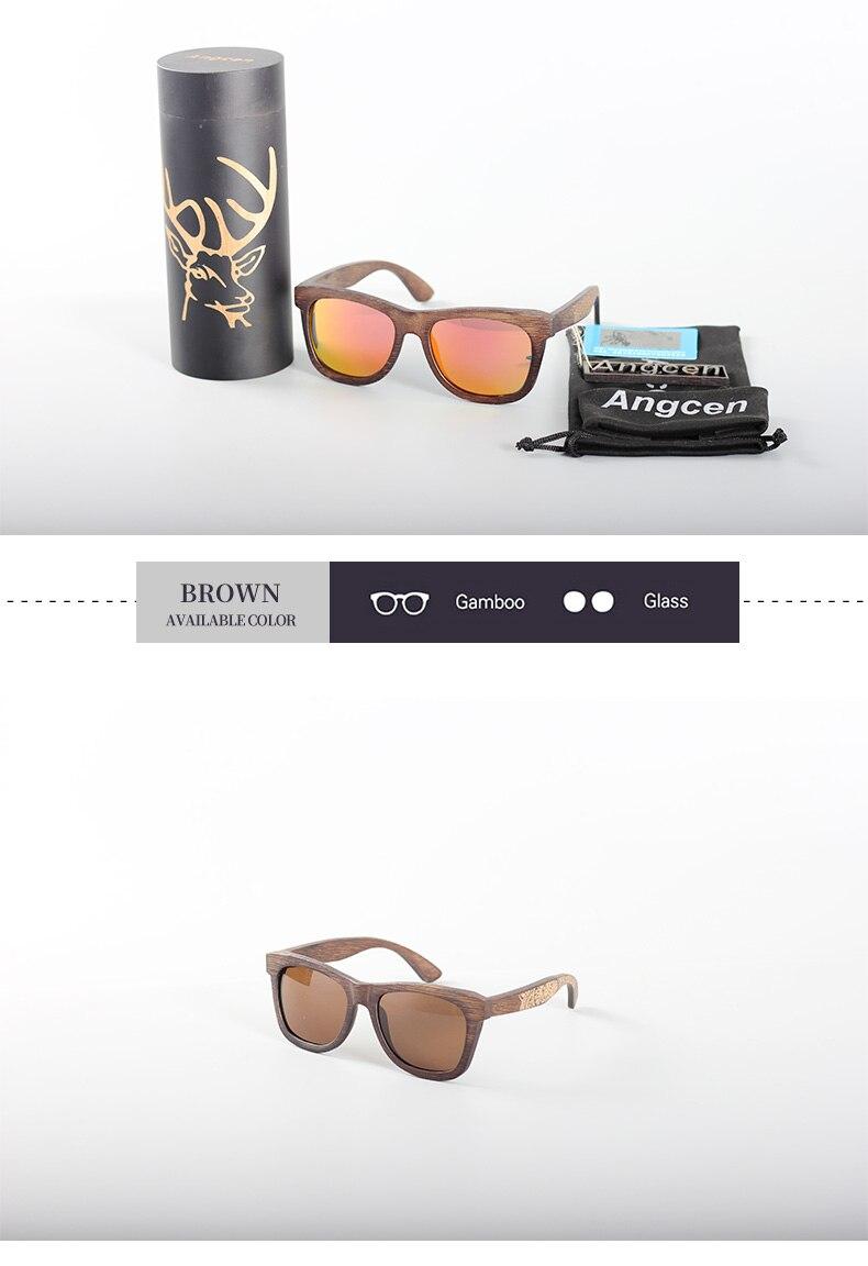 Angcen Unisex Polarized Sunglasses for Men Women 15