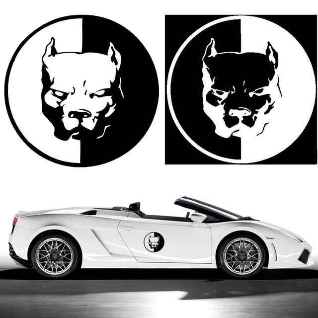 CM PITBULL Car Motorcycle Stickers D Dog Funny Car Stickers - Custom motorcycle stickers funny
