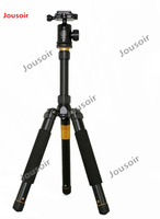 Q999 Folding 29.5cm Mini Tripod Monopod Detachable Ball Head Travel Digital DSLR Camera CD50