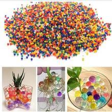 500 шт цветные жемчужные гелевые шарики, полимерный гидрогель, Кристальные бусинки для почвы и воды, волшебное желе для выращивания, свадебные, домашние, вечерние, растения в горшках