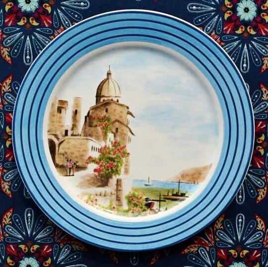 Earendil/Mediterranean amorous feelings of ceramic tableware provence decorative plate/fruit/ & Earendil/Mediterranean amorous feelings of ceramic tableware ...