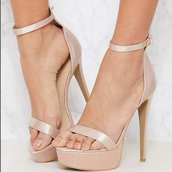 Carole Levy 2019 New Fashion Woman Shoes Summer Platform Solid Concise Lady Party High-heeled Shoes Open Toe Pumps Sexy SandalsCarole Levy 2019 New Fashion Woman Shoes Summer Platform Solid Concise Lady Party High-heeled Shoes Open Toe Pumps Sexy Sandals